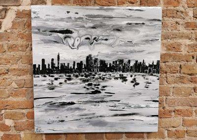 Cityscape Black & White