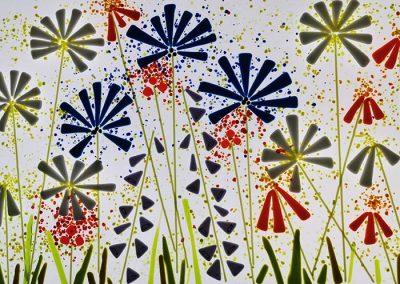 Cornflower Panel