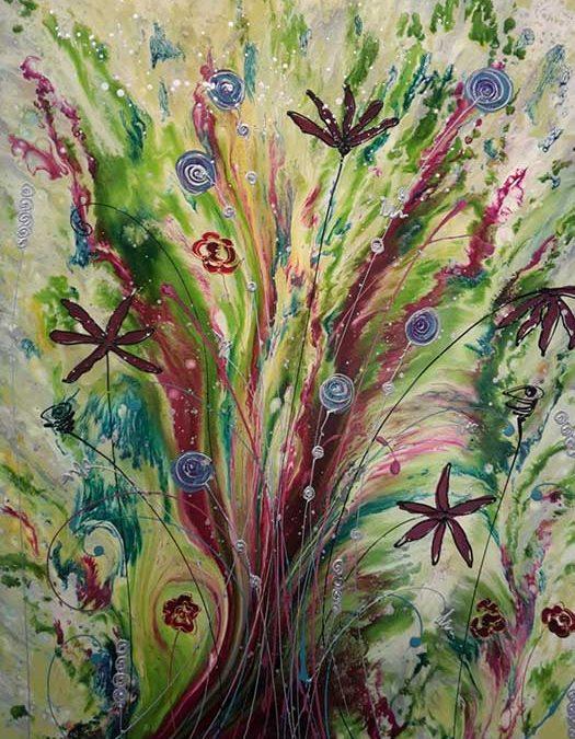 Painting - Crazy Tree