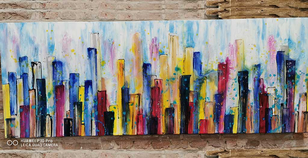 Painting - The Big Apple